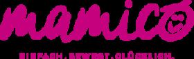 Mamico.de einfach.bewegt.glücklich. MamaFitness & Baby/Kinder/ElternKurse & Beratung – MamaGlück ♡ BabyZeit ♡ KinderSpaß ♡ FamilienRaum Logo